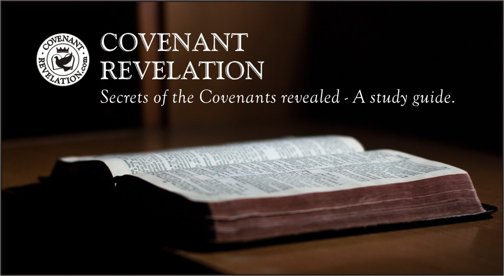 Covenant Revelation logo with image of Bible